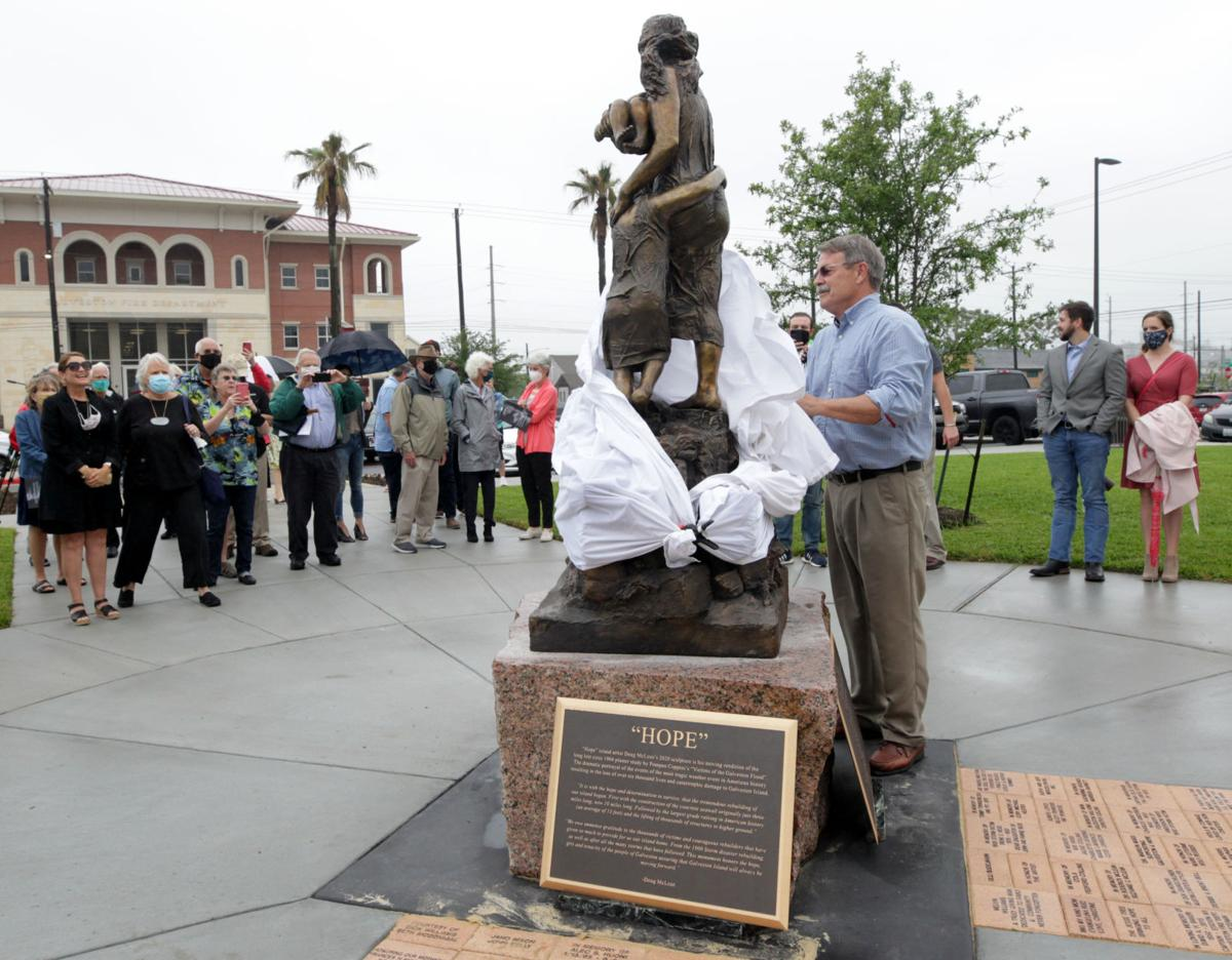 HOPE sculpture unveiled
