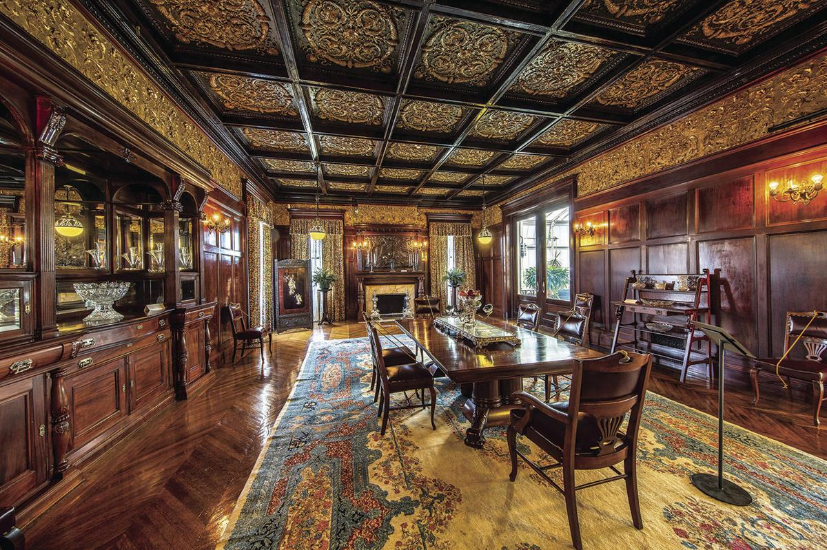 Moody Mansion dining room