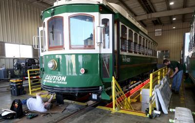 Third trolley returns
