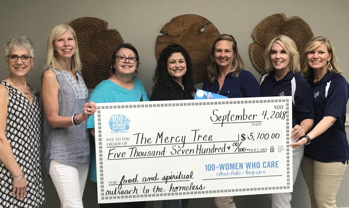 100 Women Who Care gives back