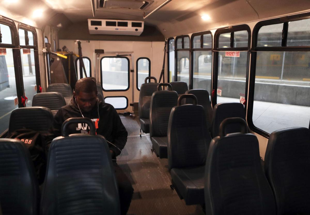 Nine riders a day taking Galveston-Houston bus route | News | The Daily News