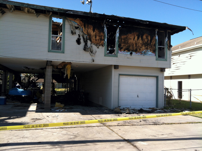 Bayou Vista fire