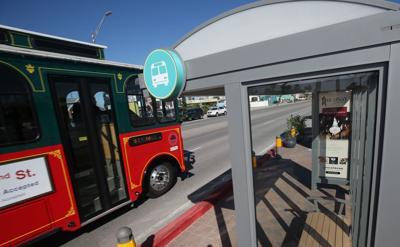 Seawall parking improvements