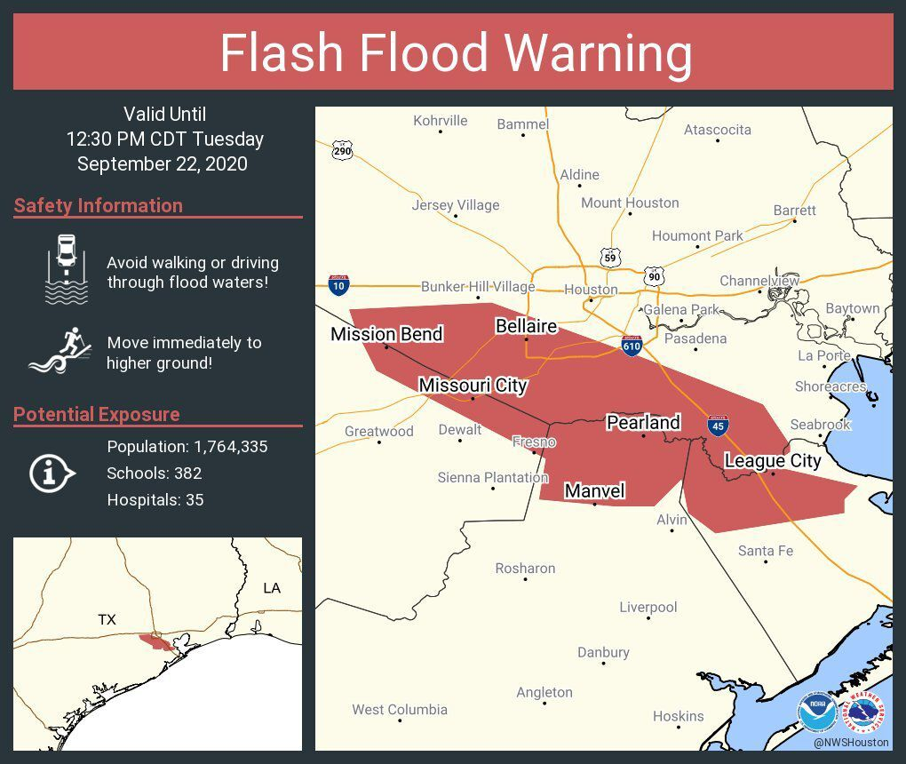 Flash Flood Warning until 12:30 p.m.