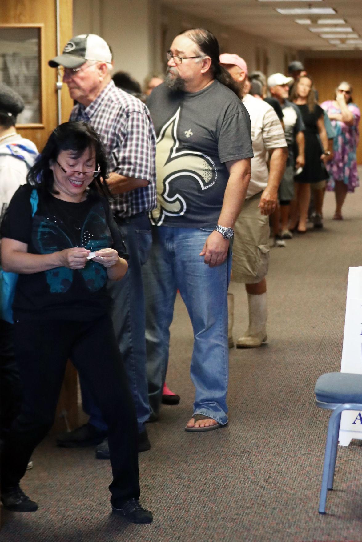 Voting in Galveston