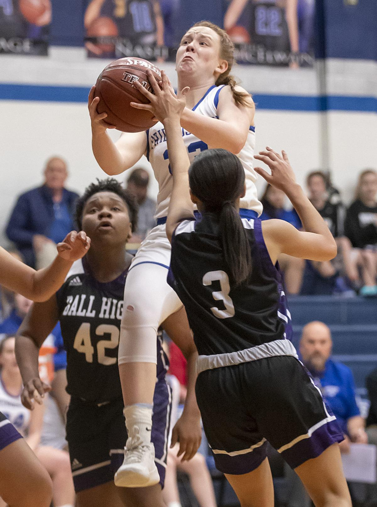 Friendswood vs Ball High Girls Basketball