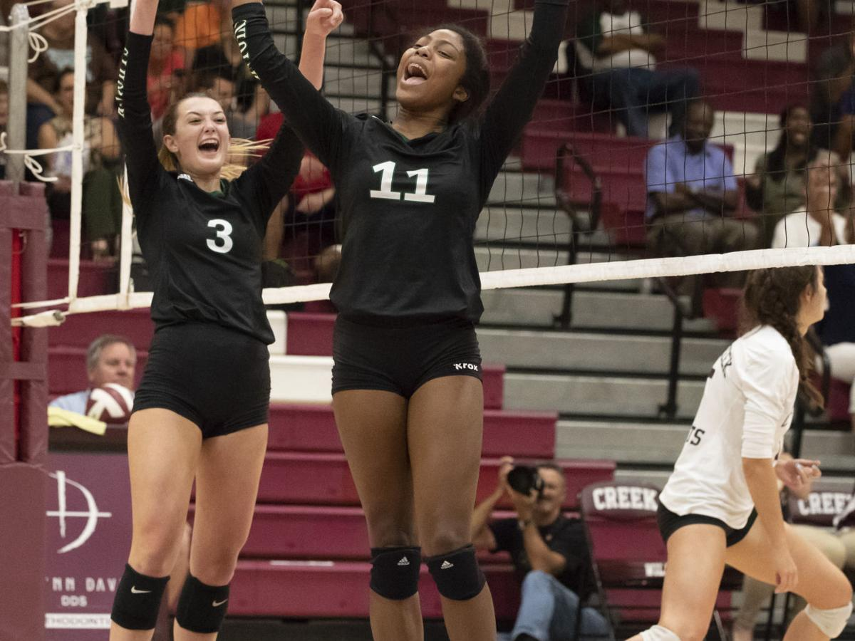 Clear Falls sweeps Clear Creek in pivotal district match