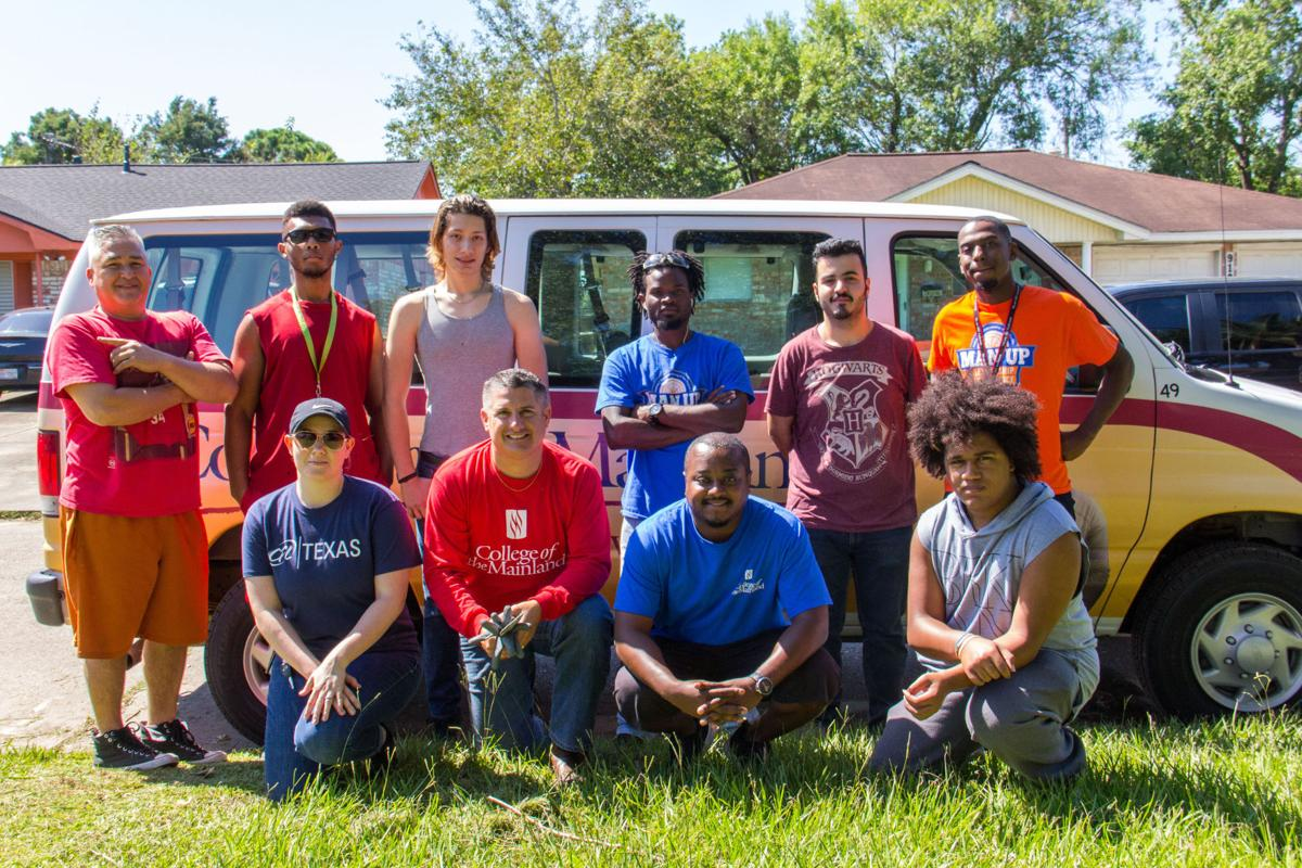 COM staff, students help with Hurricane Harvey clean up