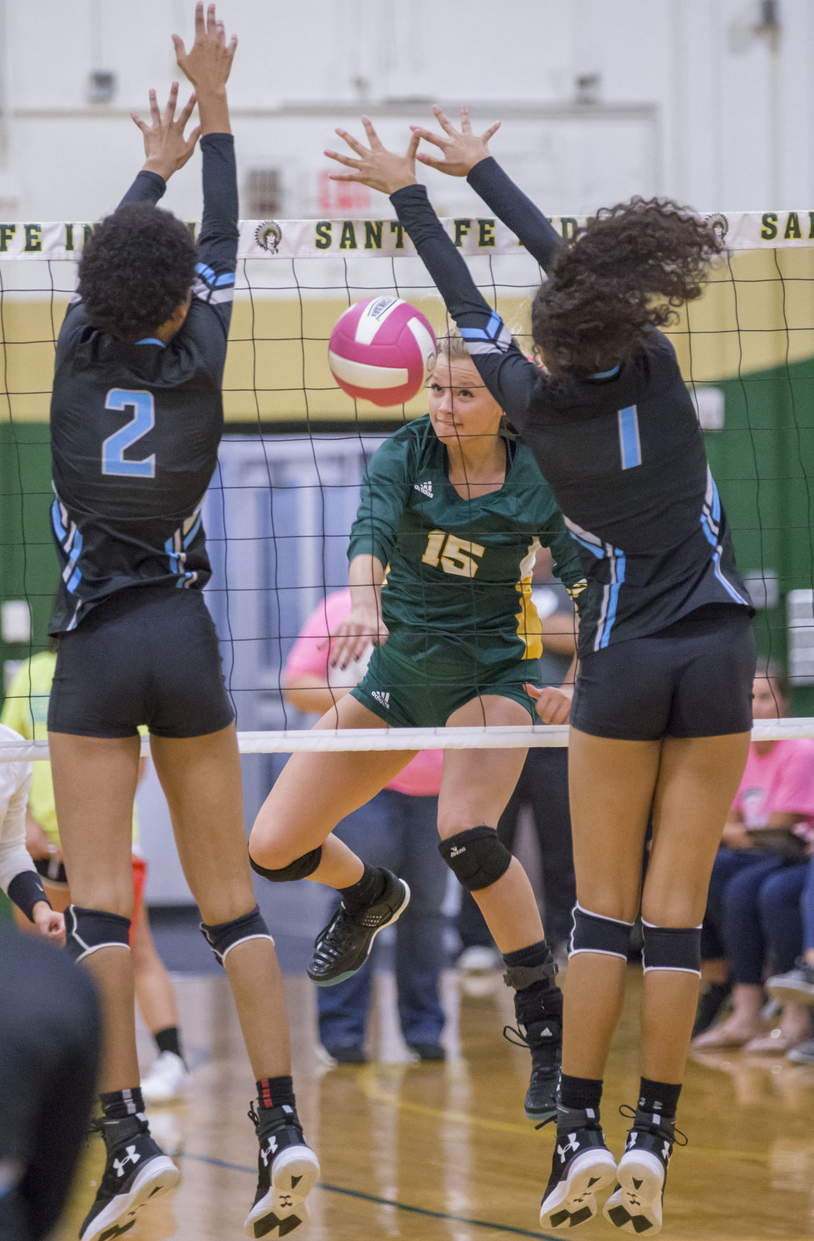Santa Fe vs Shadow Creek Volleyball