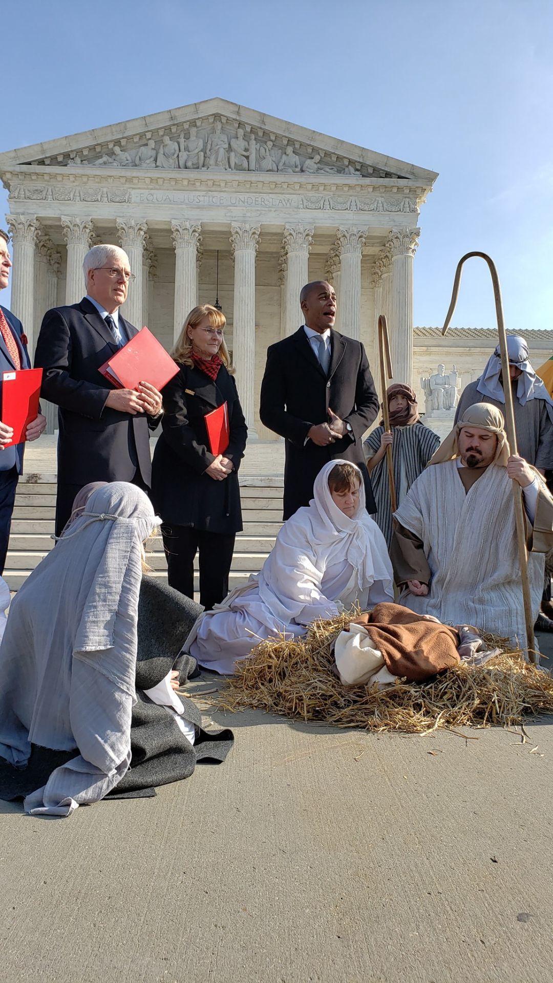 D.C. Nativity scene
