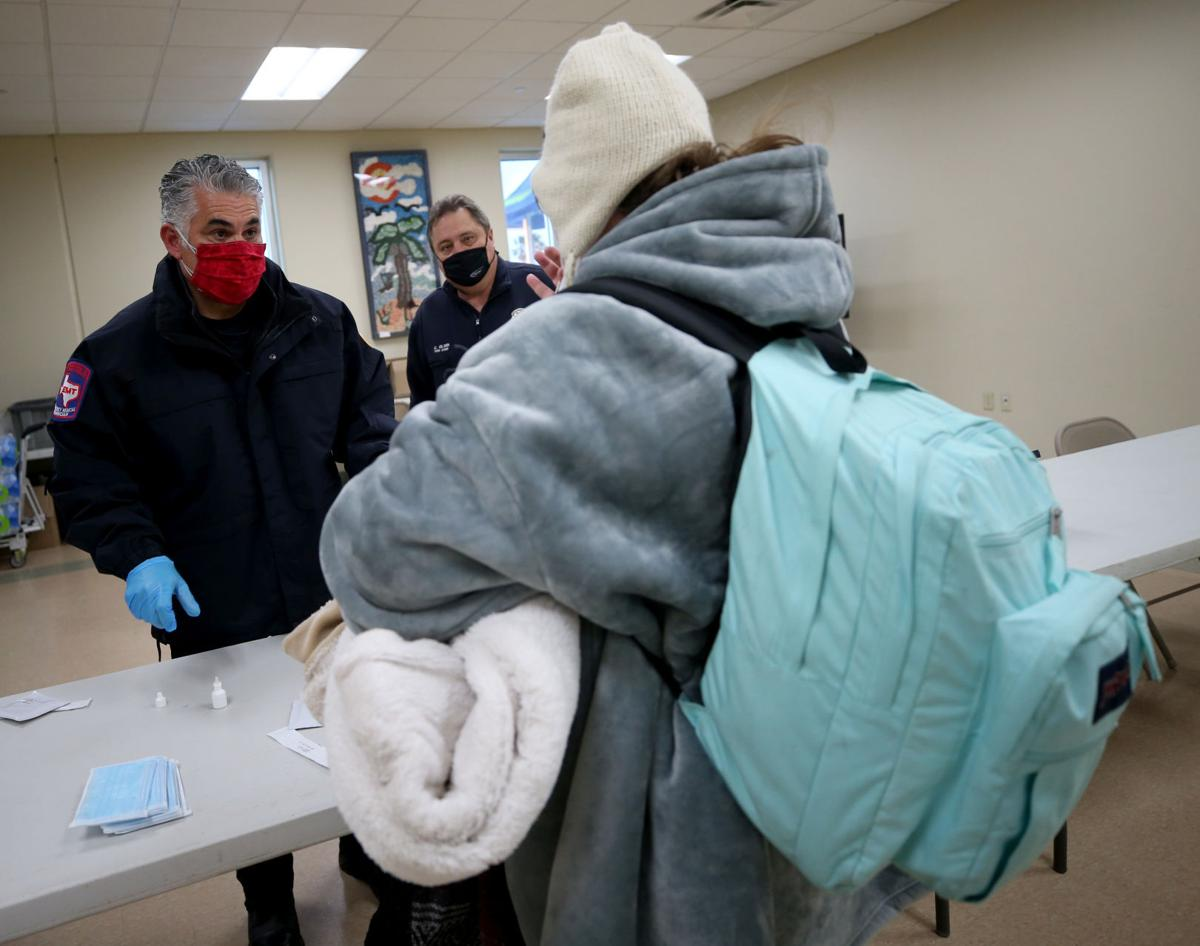 McGuire Dent opened as warming center
