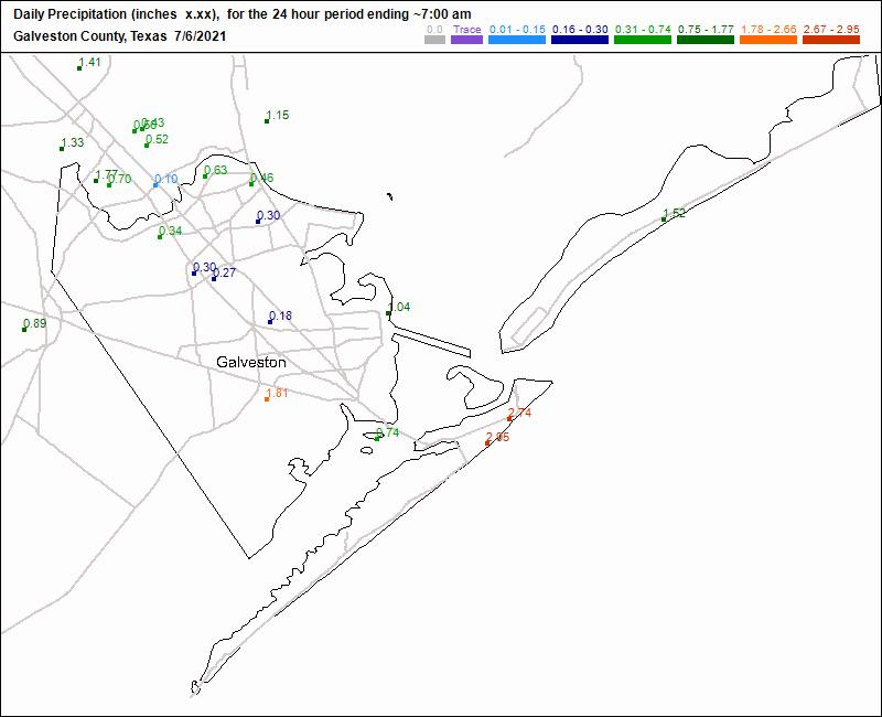 Daily Precipitation
