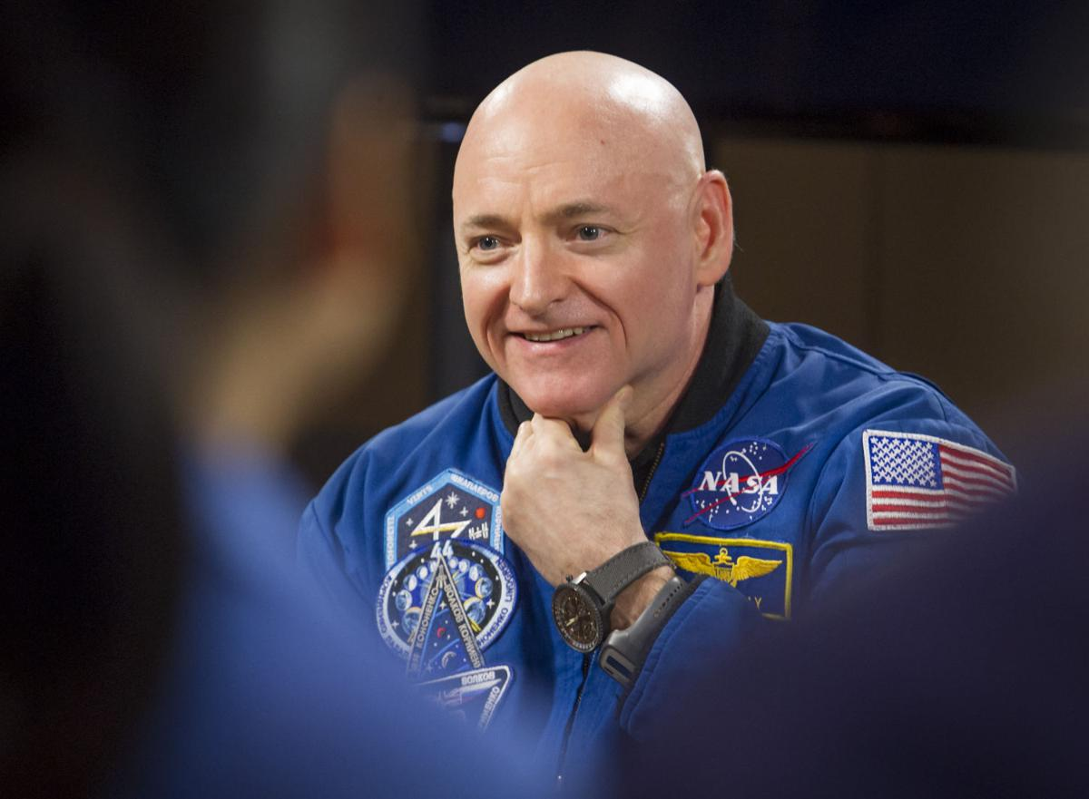Scott Kelly Returns to Earth