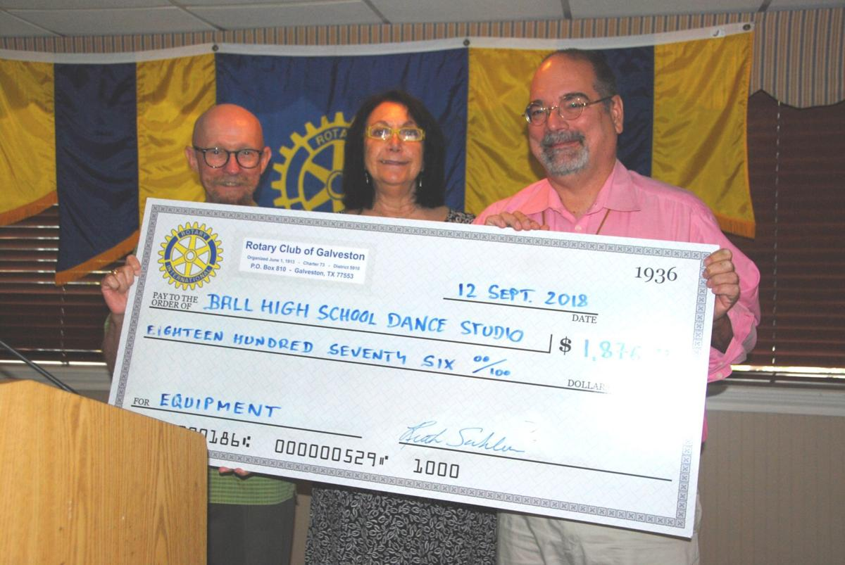 Rotary Club of Galveston gives back