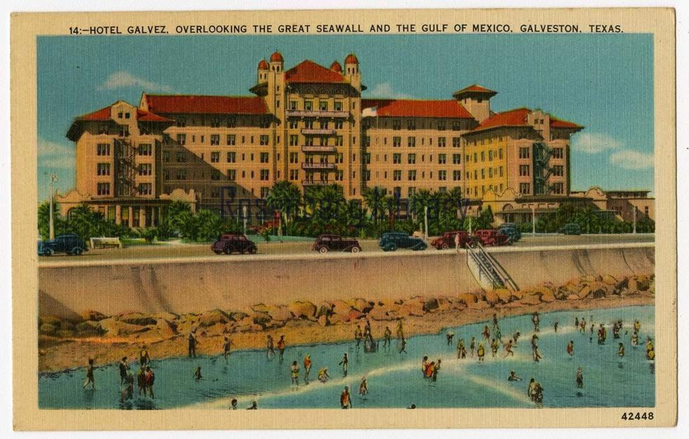 A pink hotel in Galveston? It's not so unusual