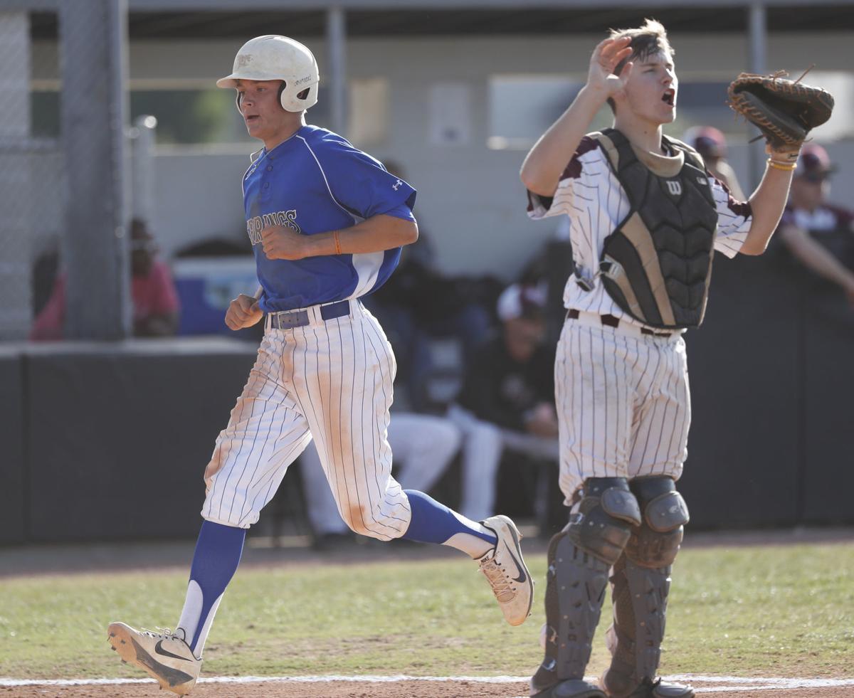 Clear Springs vs. George Ranch baseball