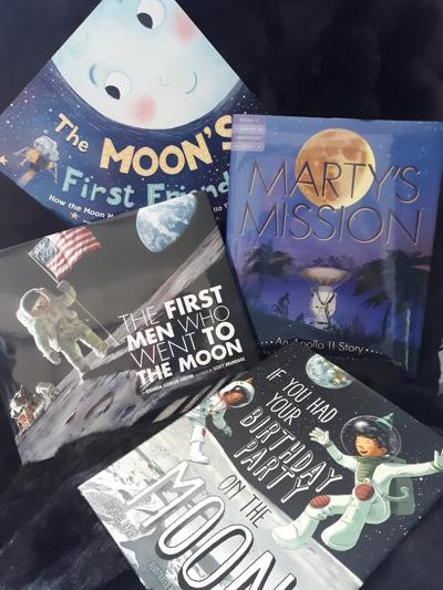 Books on Apollo 11 for children