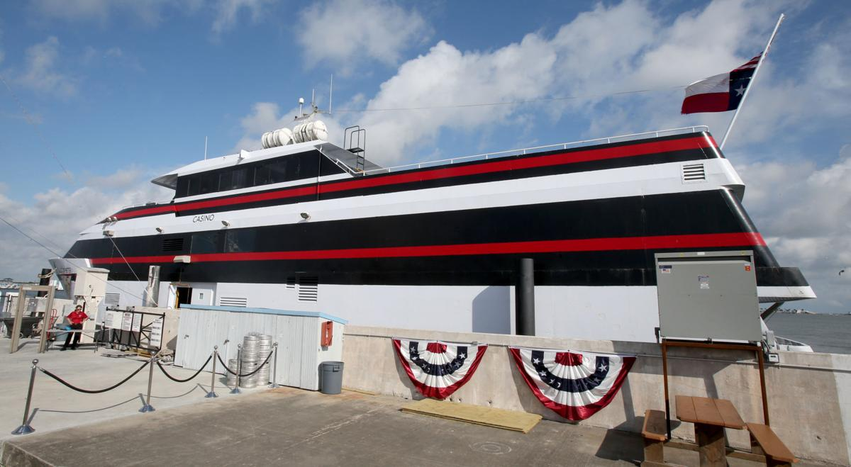 Casino boat now sailing from Galveston