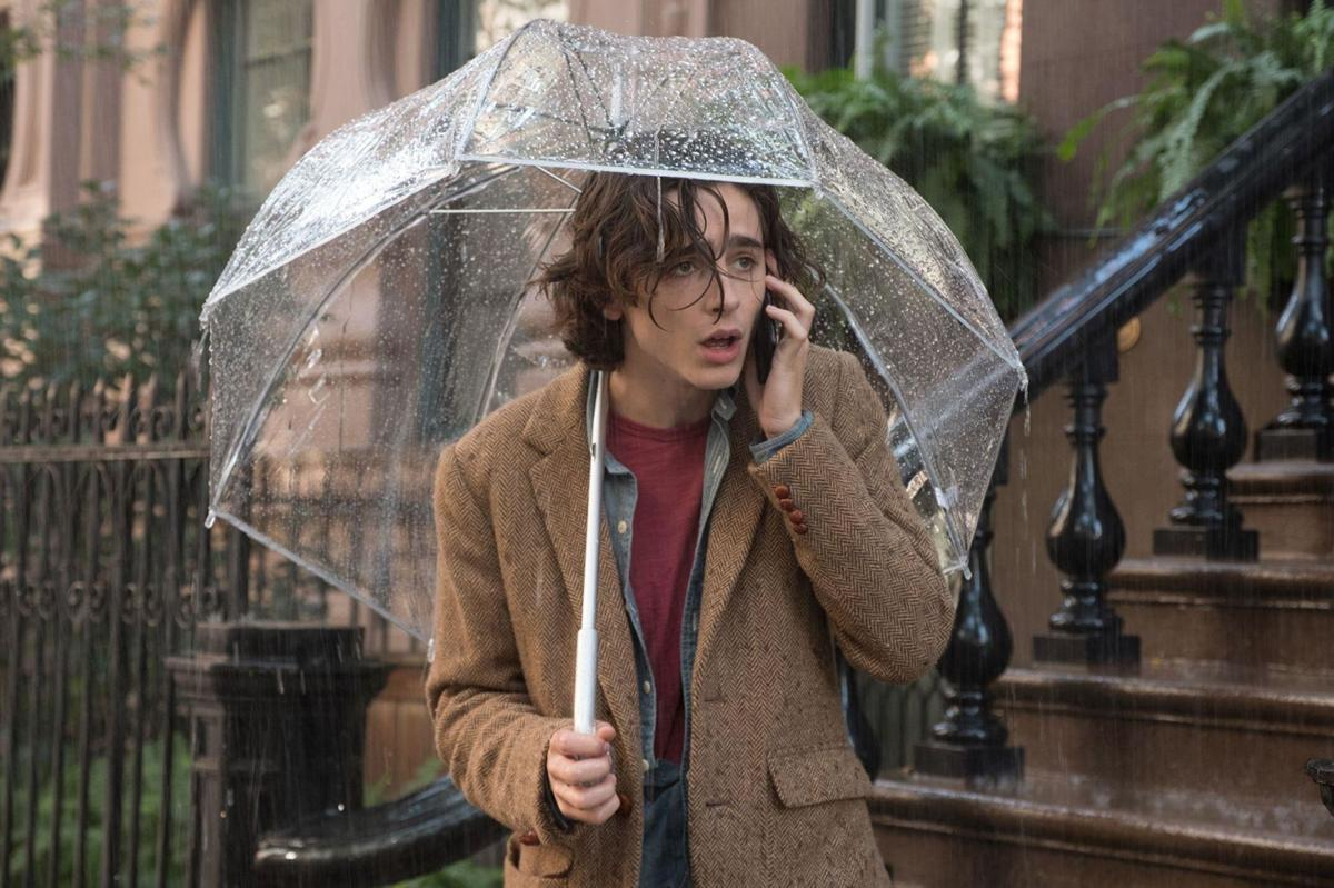 'A Rainy Day in New York'