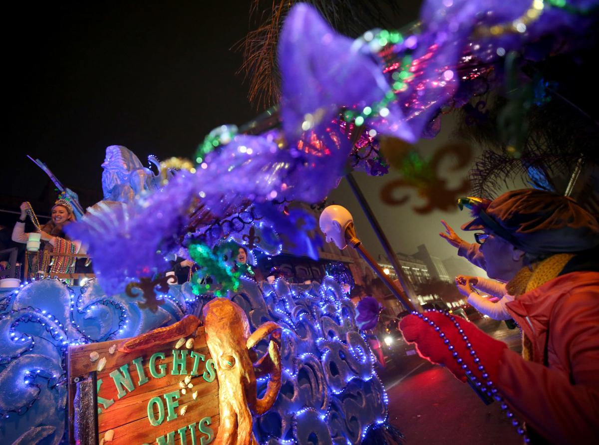 Mystic Krewe of Aquarius closes out Mardi Gras with their annual Fat Tuesday parade