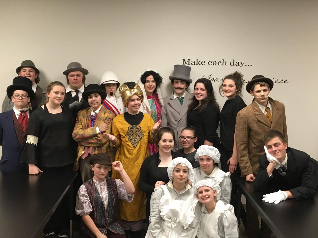 Santa Fe Junior High School Theatre Students Win First Place Applause The Daily News