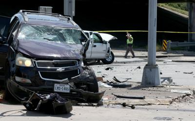 Police chase ends in collision in La Marque