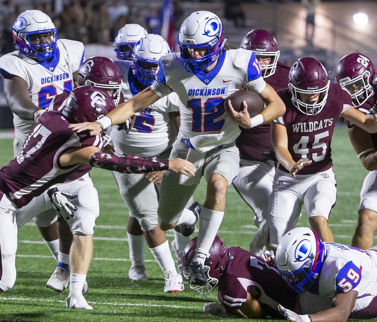 Clear Creek vs Dickinson High School Football
