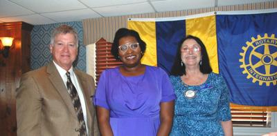 Leah Jacobs joins Rotary Club of Galveston