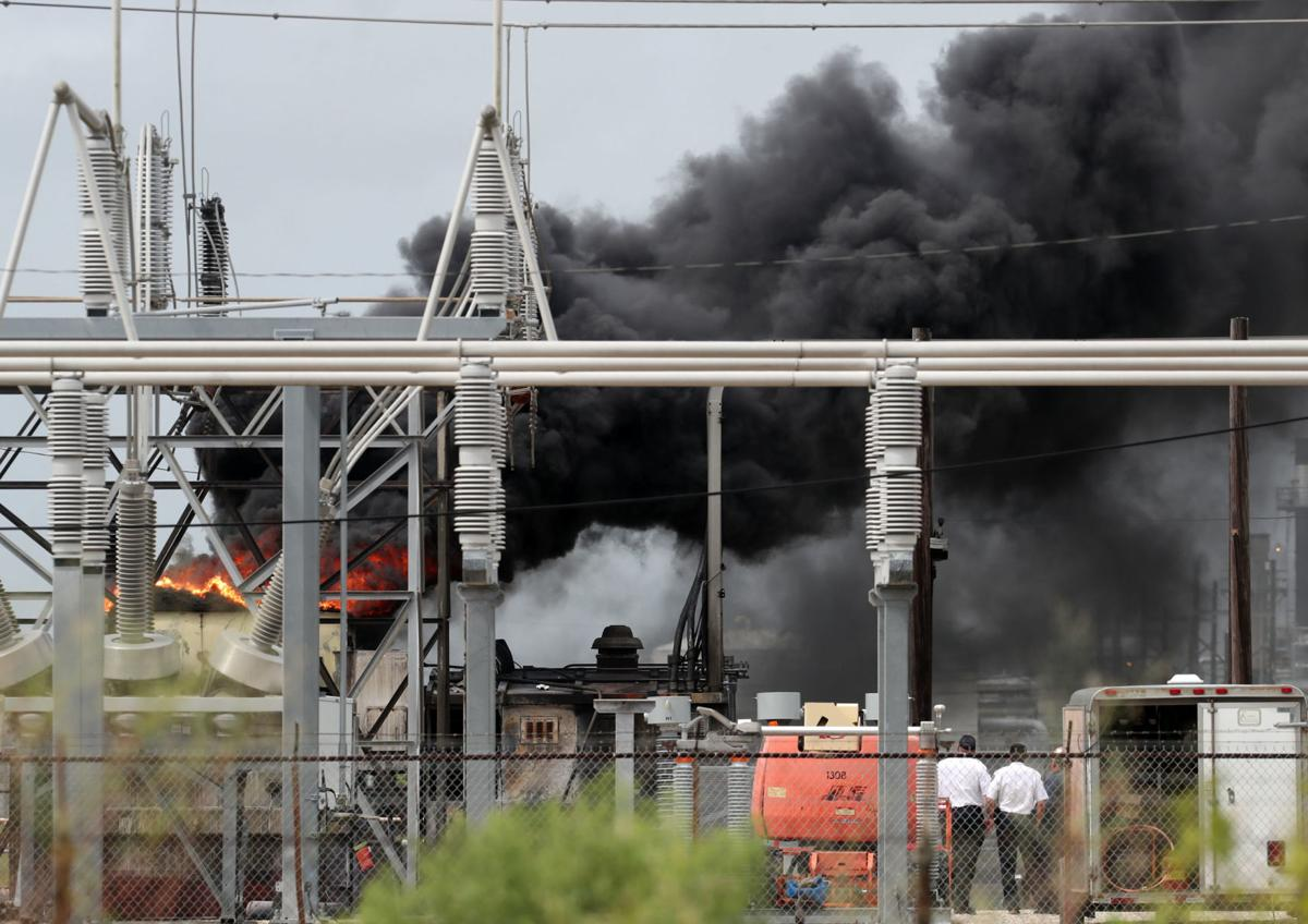 TC plant fire