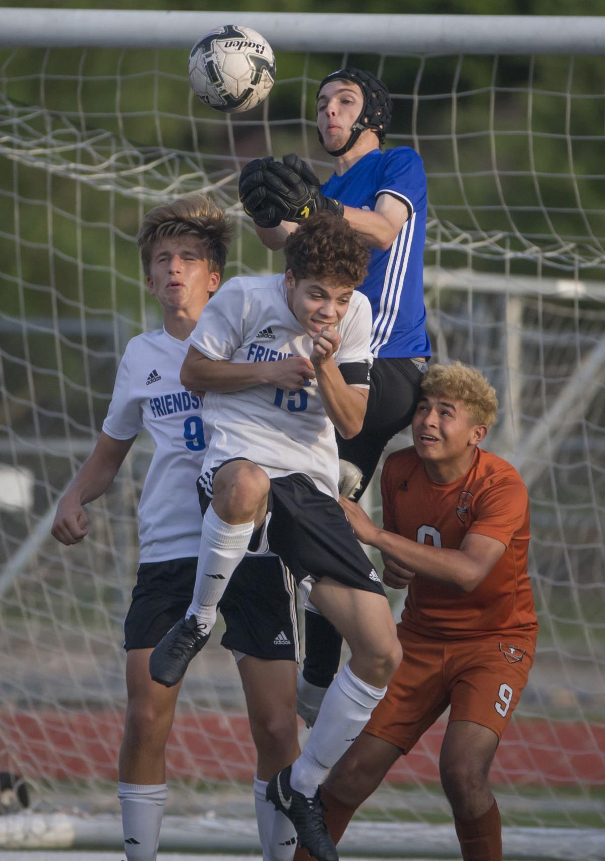 Friendswood vs Dobie Boys Playoff Soccer