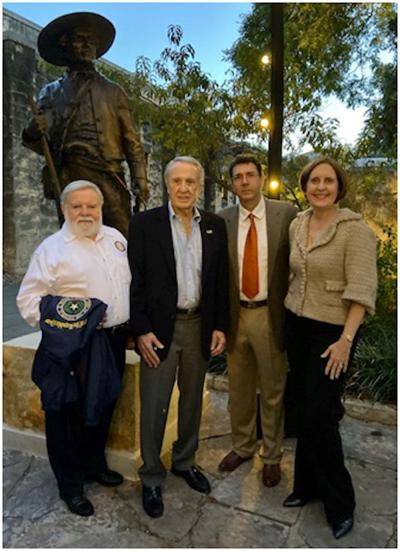 Col. Juan N. Seguin returns to The Alamo