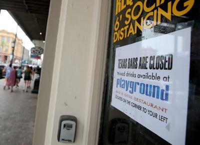 Gov. Abbott issues OK for bars to reopen