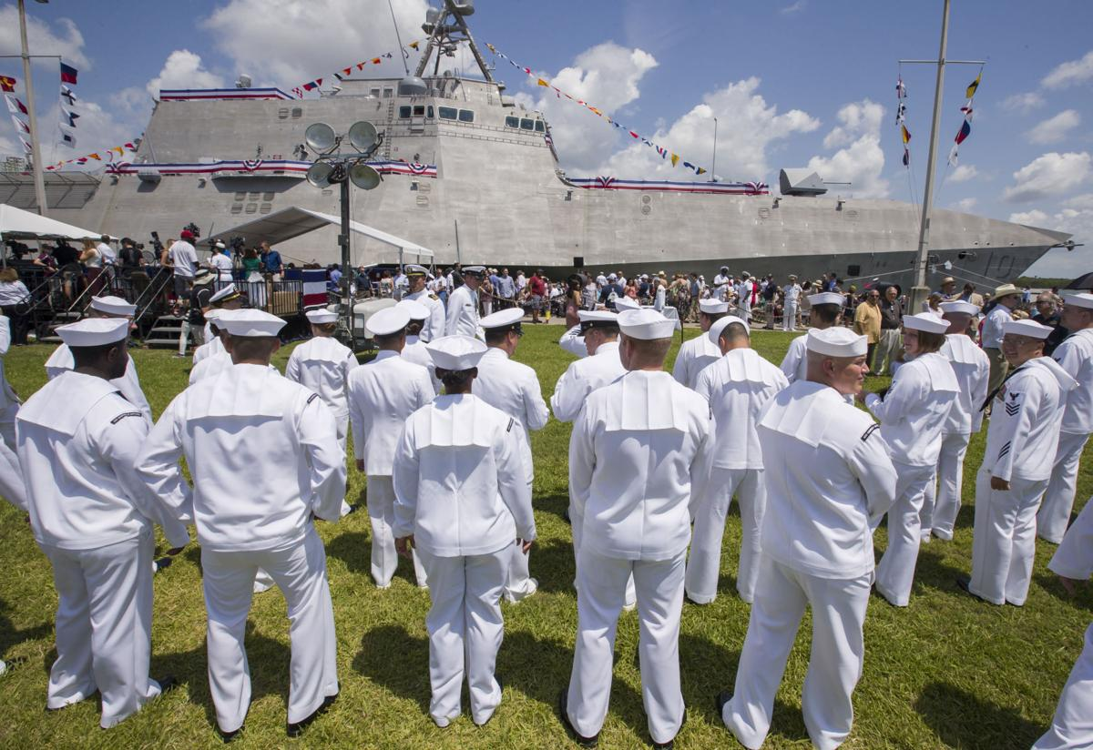 USS Gabrielle Giffords Commissioning Ceremony