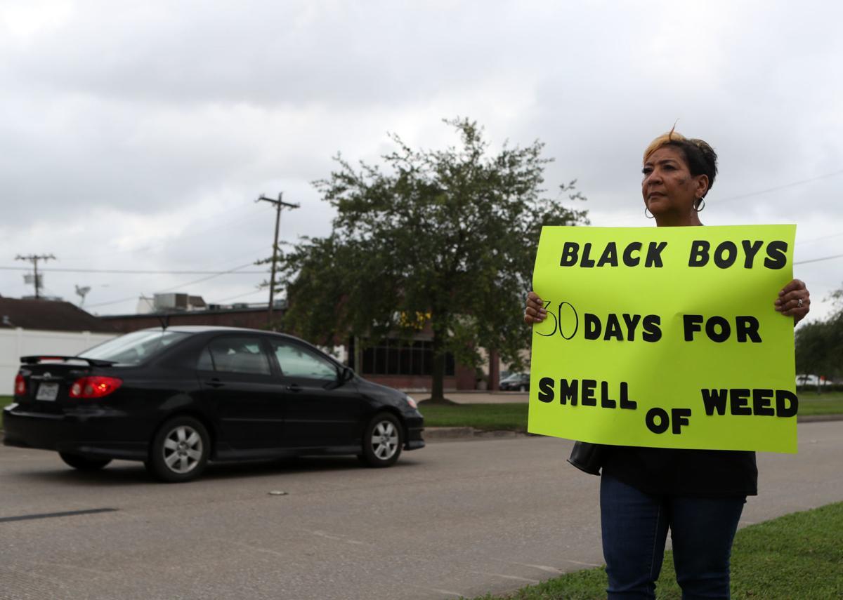 NAACP protest CCISD