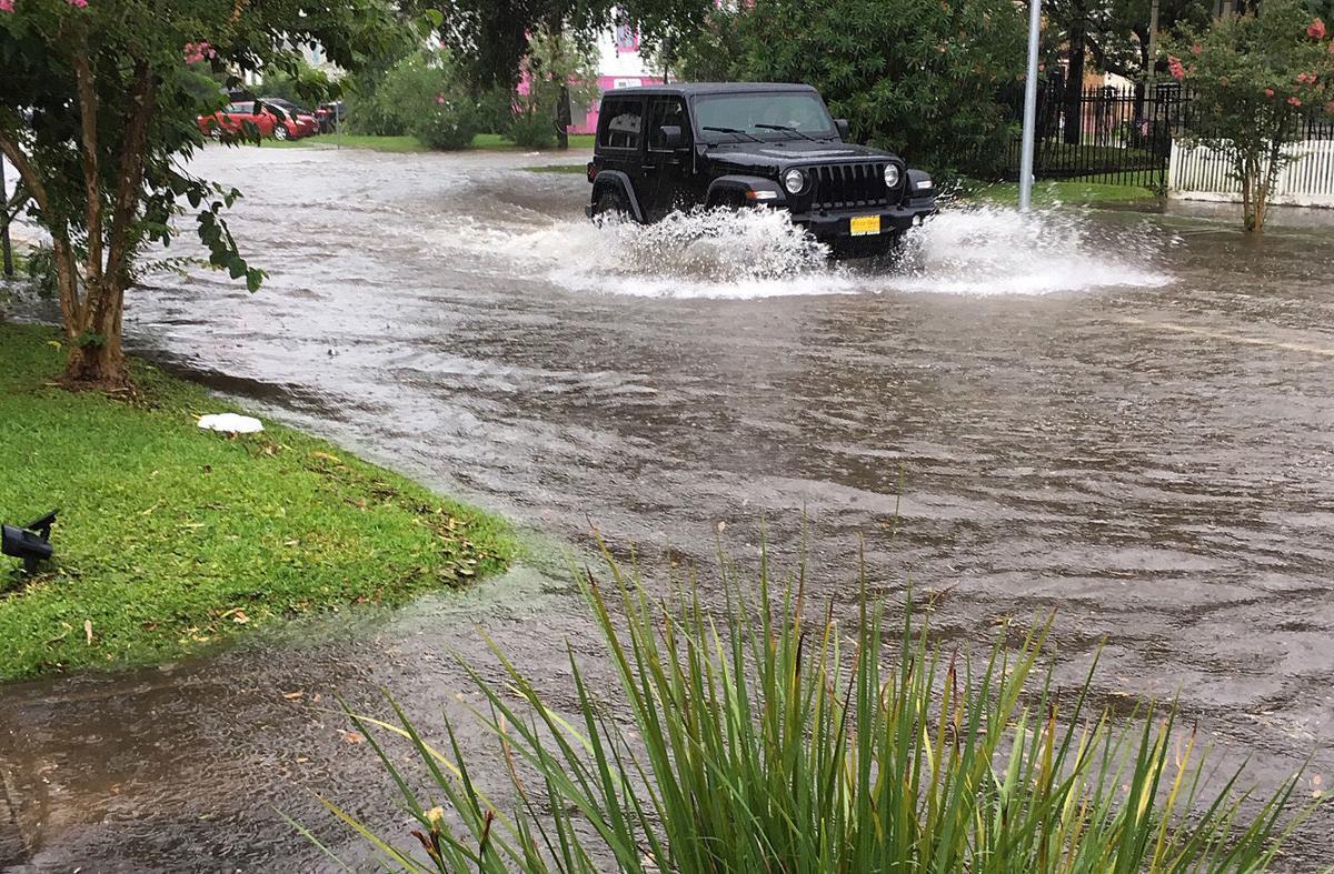 Galveston Street Flooding
