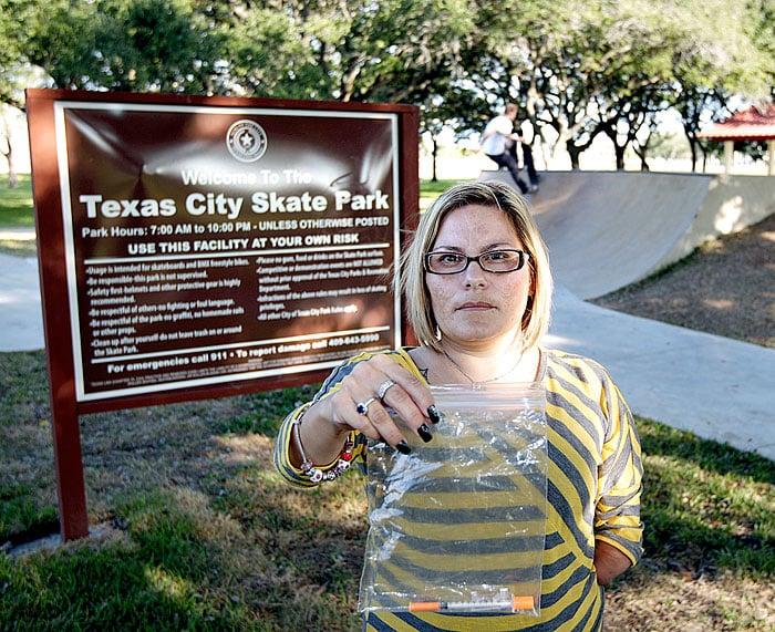 Drugs at the skate park?