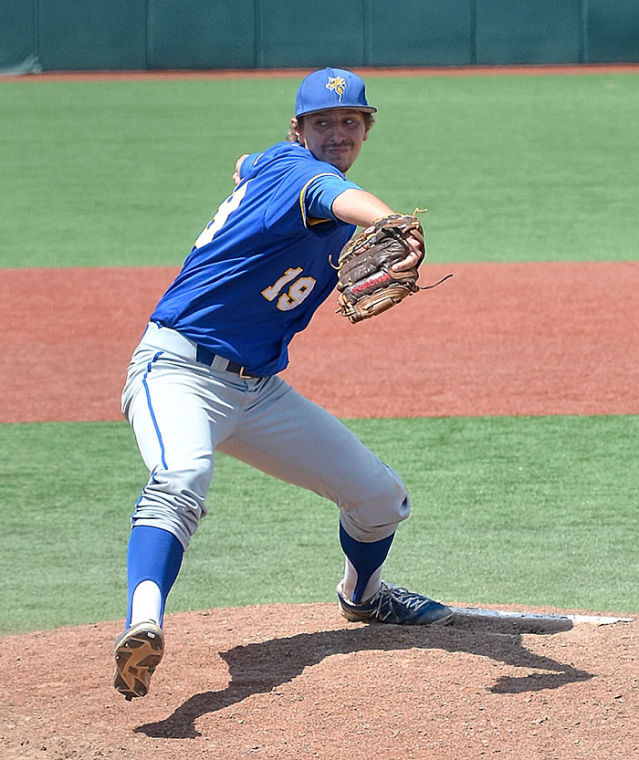 Whitley pitches for LeTourneau