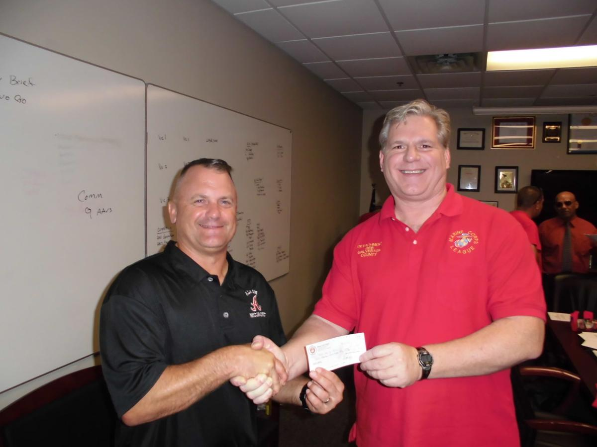 Alvin ISD accepts donation