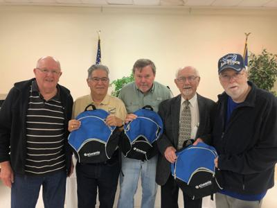 Galveston Kiwanis Club donates backpacks to school