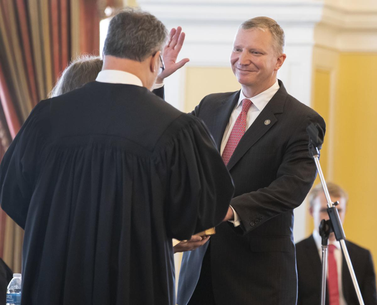 Judge Jeffrey Brown Sworn In