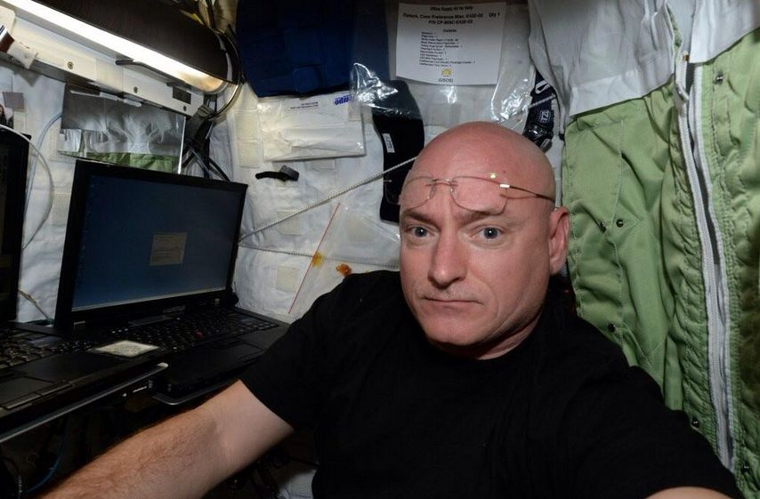 Scott Kelly named to Time's 100 Most Influential