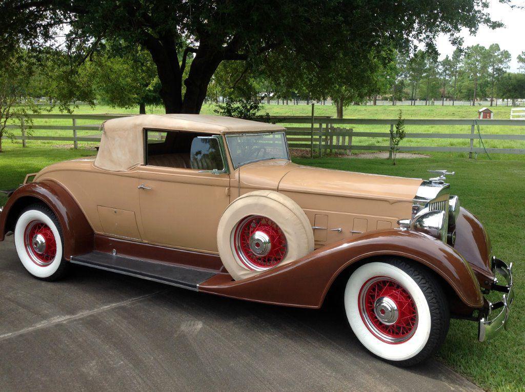 1934 Packard convertible