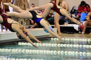 Friendswood boys and girls swim and dive teams