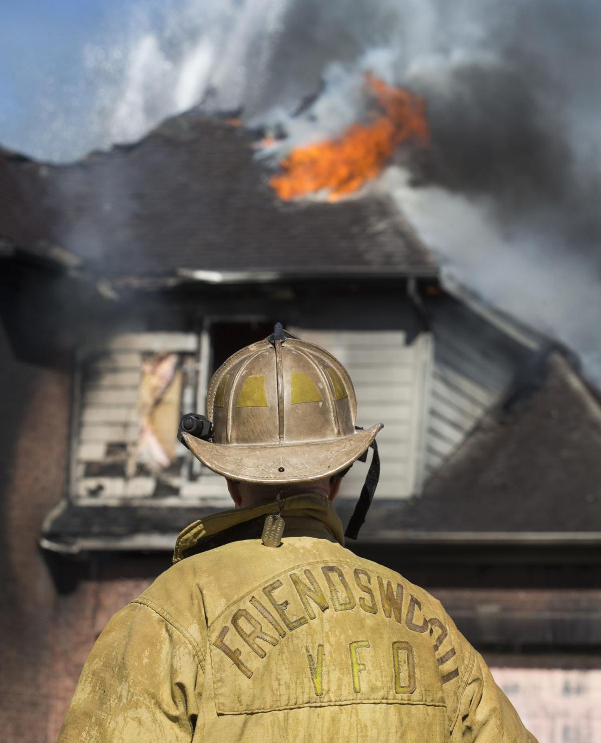 Friendswood House Fire