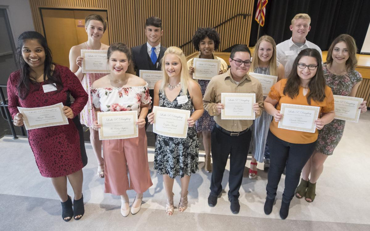 2018 Les Daughtry scholarship winners
