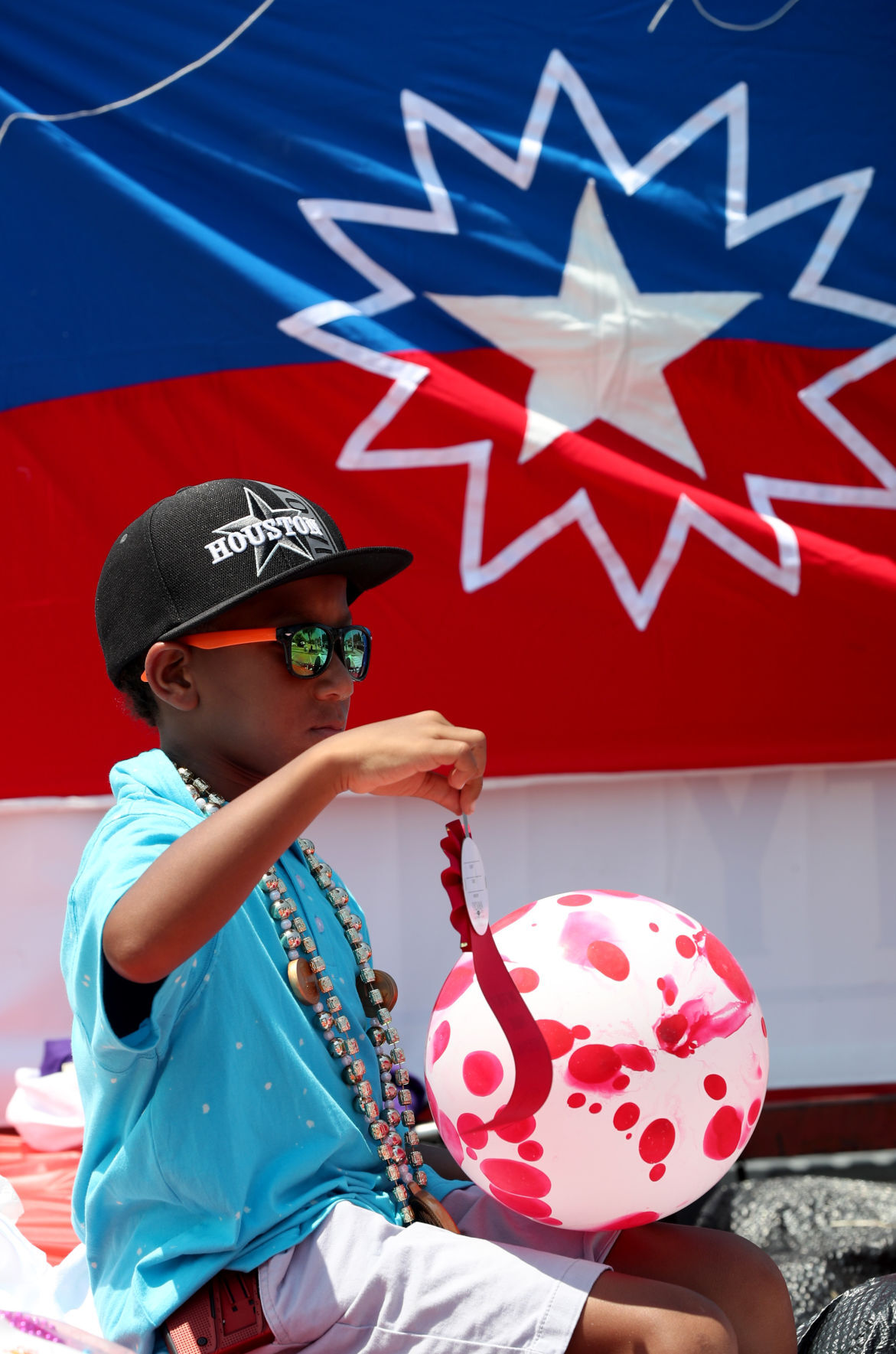 Charles Brown Juneteenth Celebration parade