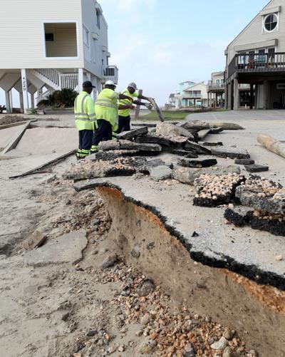 West End beach erosion