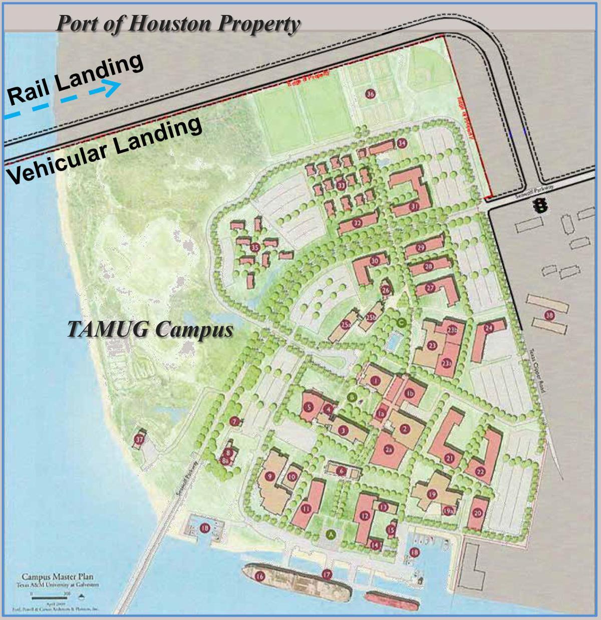 Port Of Houston Approves Agreement For Pelican Island Bridge Plan - Port of houston map