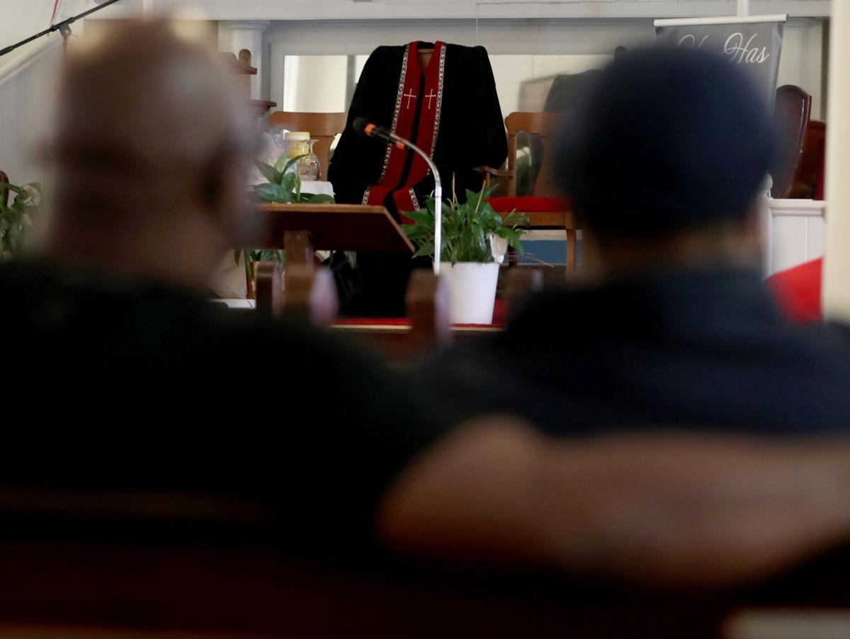 Prayer service for E.R. Johnson