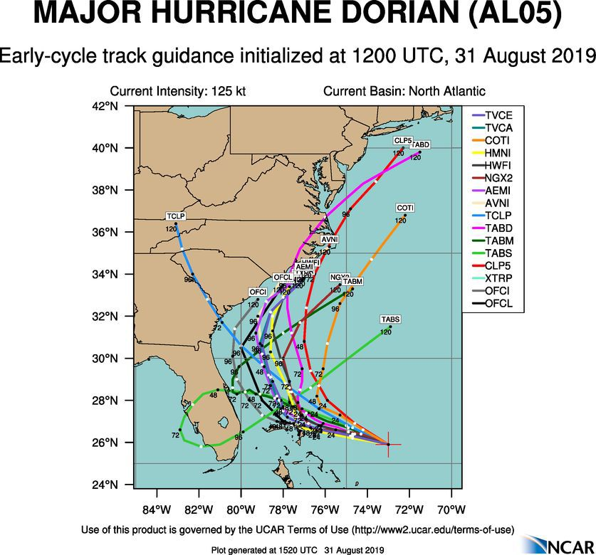 Major Hurricane Dorian (AL05)